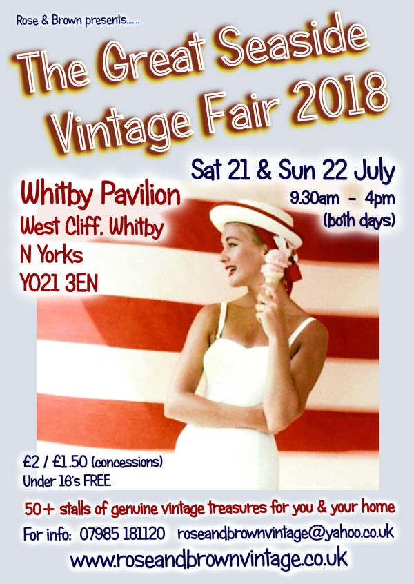 click here toview our Great Seaside Vintage Fair advance tickets section