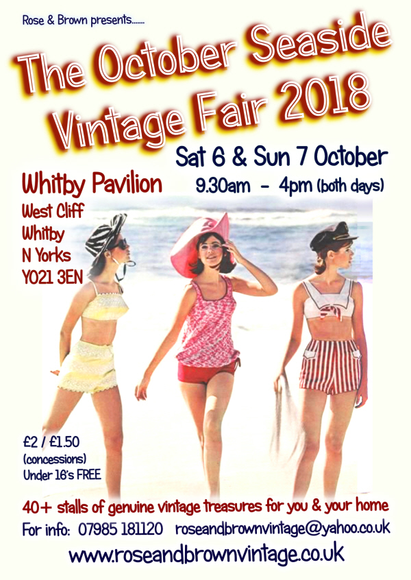 click here toview our October Seaside Vintage Fair advance tickets section