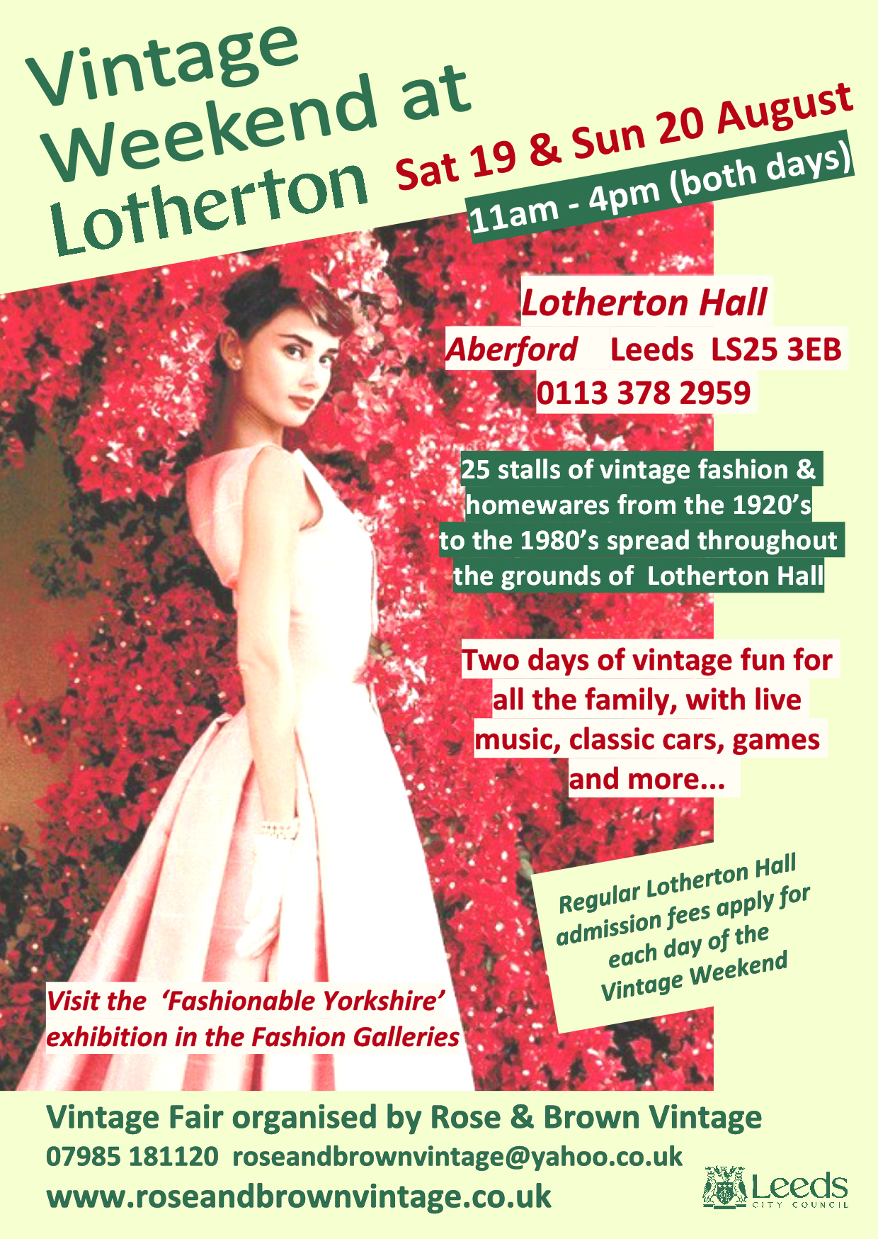 Craft Fairs Near Leeds